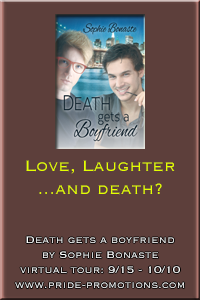 Death Gets a Boyfriend tour stop