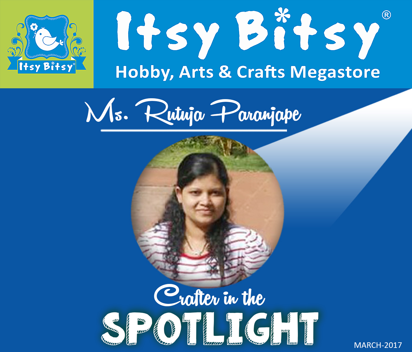ItsyBitsy Crafter in the spotlight