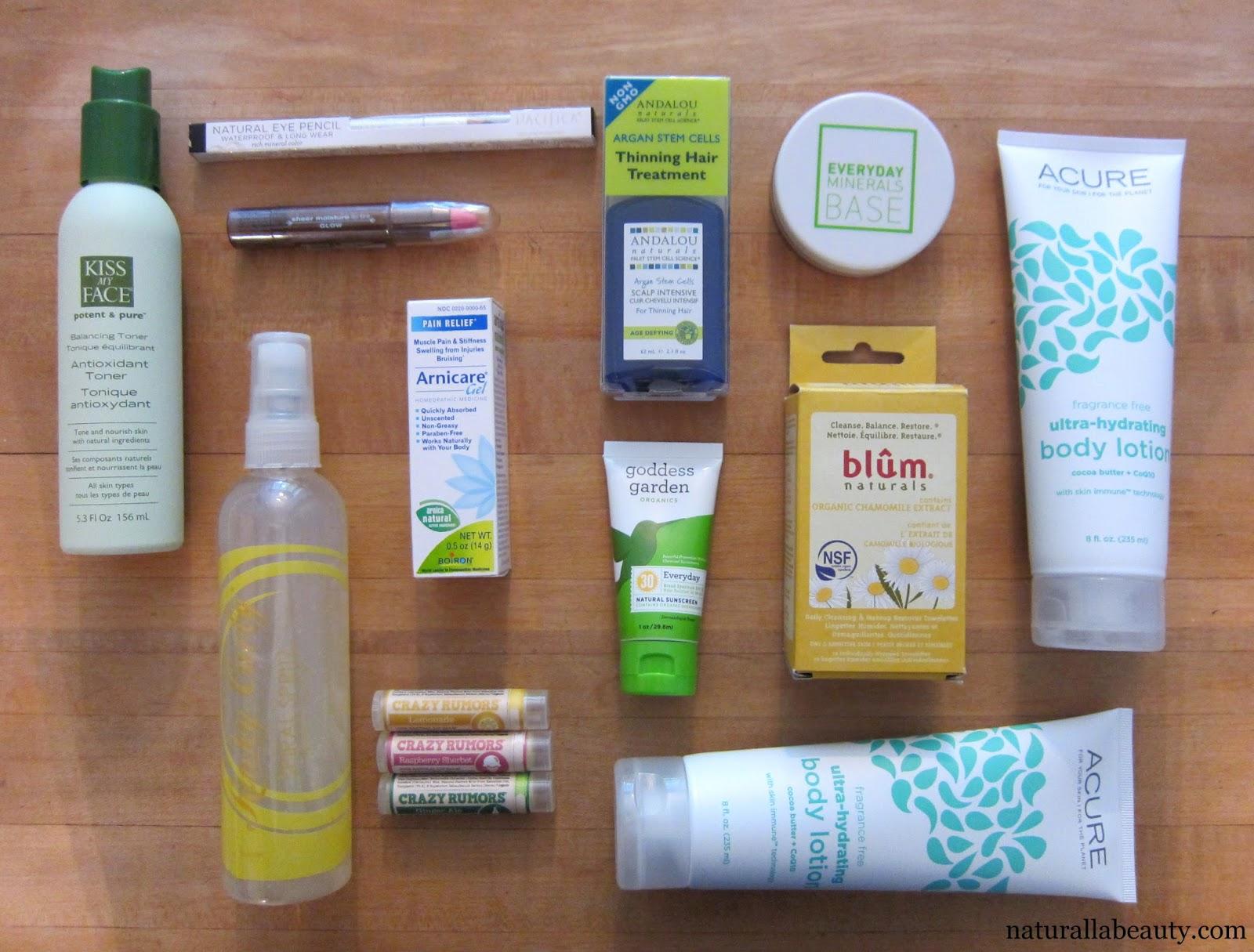 Naturalla Beauty: iHerb Haul #2: Makeup, Skincare, Hair + Body