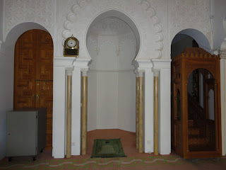Bon voyage al akhawayn mosque visit for Decoration khotba