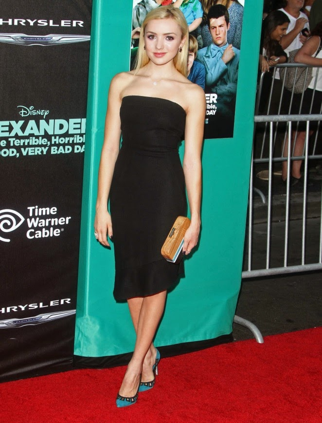 Peyton Roi List: Alexander And The Terrible Horrible No Good Very Bad Day Premiere