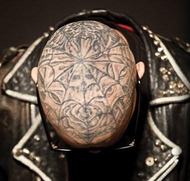 Tattoo lifestylez tattoo lifestylez feature tim for Full head tattoo