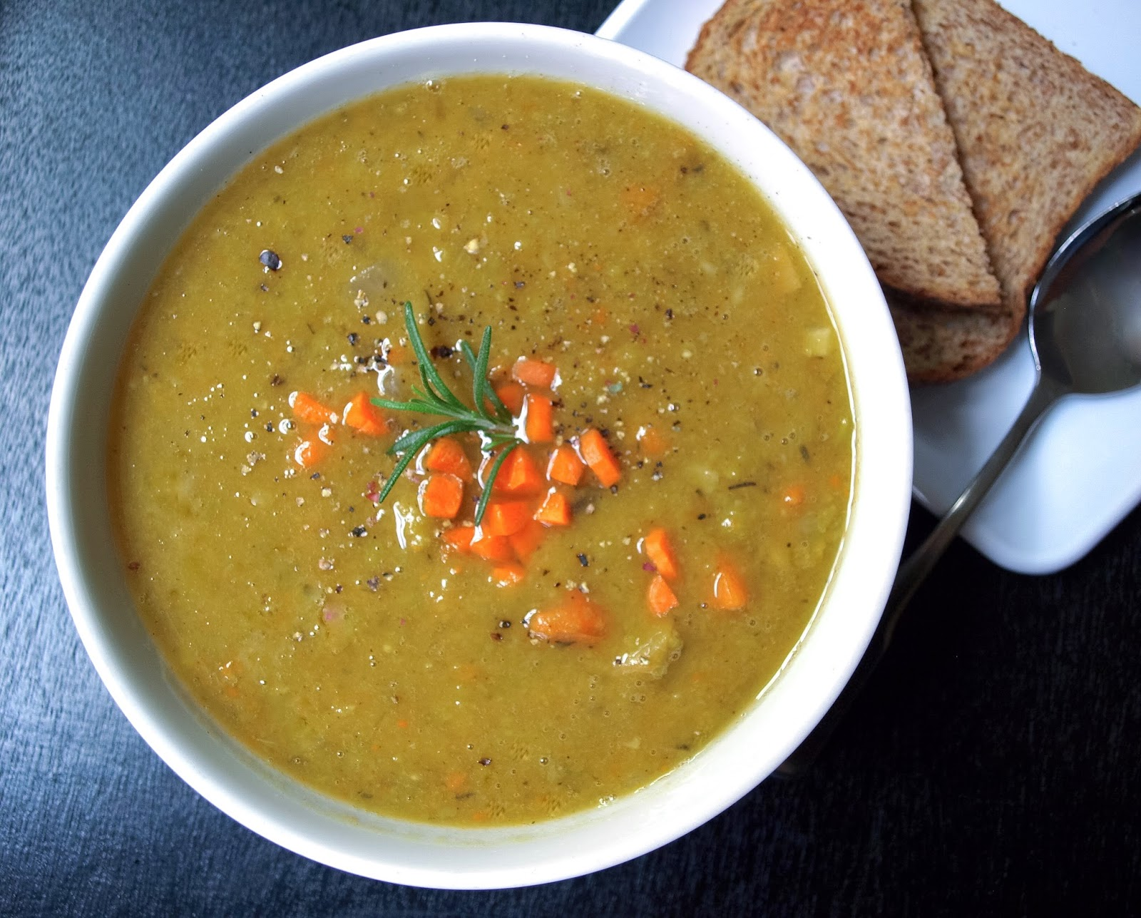 ... SIMPLE VEGANISTA: PARSNIP & SPLIT PEA SOUP: SLOW COOKER OR STOVE TOP