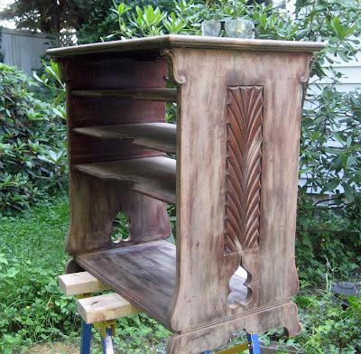 Sanded shelf