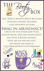 TEB Booty Box - get your author goodies here