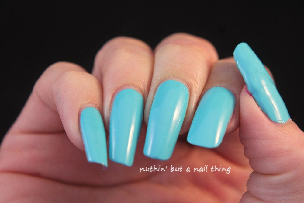 Models Own - Polish for Tans - Turquoise Sea