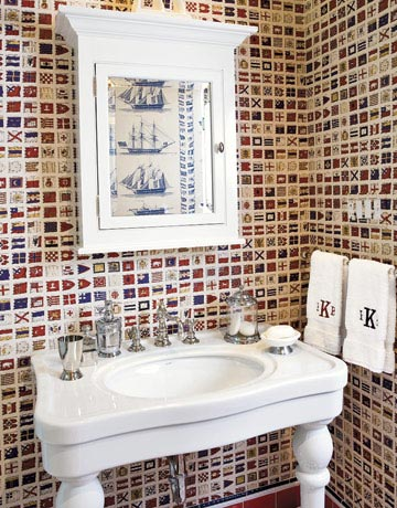 simpler gifts: Bathroom Decor Ideas
