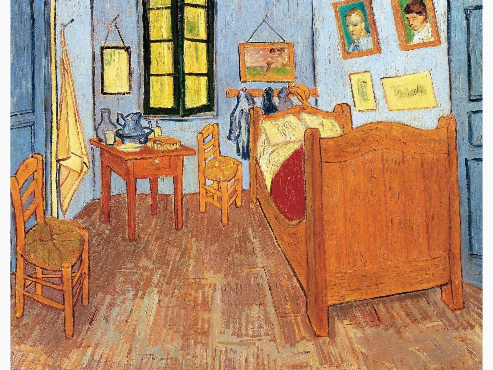 Le blabla blog de christine beigel la chambre de van gogh pirate des couleurs for La chambre jaune a arles van gogh