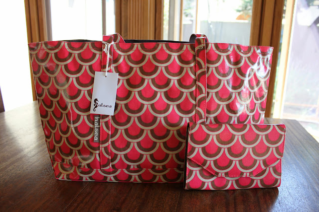 Halsea Tote and Clutch