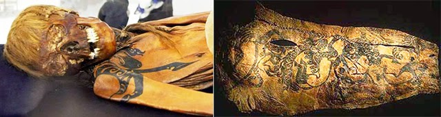 Caucasians Around The Ancient World   Scythian_mummy_03