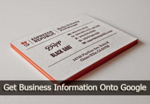 How To Surface Your Business's Contact Information in Google?