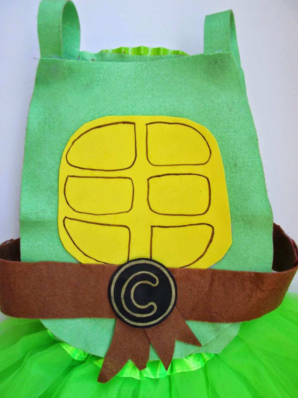 disfraz carnaval facil tortuga ninja