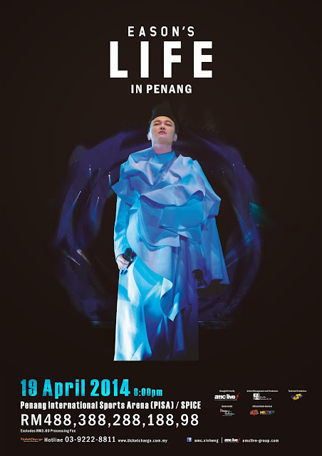 EASON'S LIFE IN PENANG 2014 @ PISA 陈奕迅《EASON'S L I F E》演唱会: 4 月份槟城首度开演