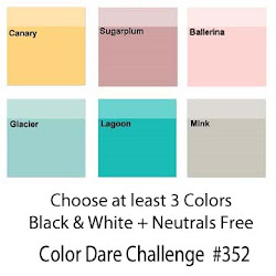 CLICK HERE for Color Dare Challenge #352 Love of Color  - CLOSES AUG 1ST