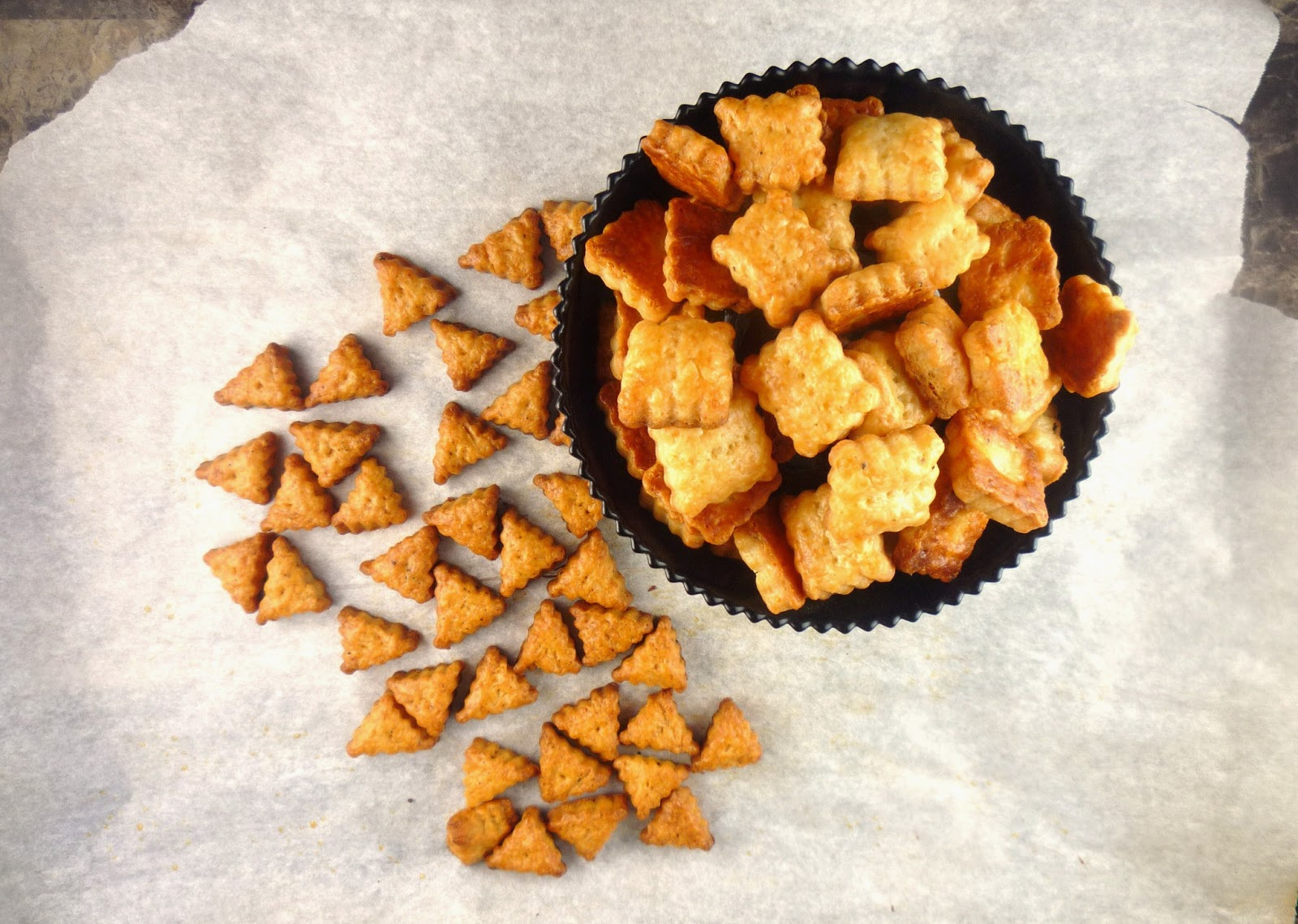 Being A Bear: Mommy Kibble(+ Sharp Cheddar Cheese Crackers)