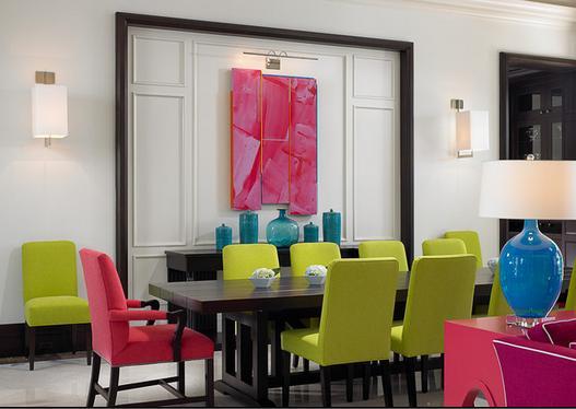 Fotos de Comedores: colores para comedores