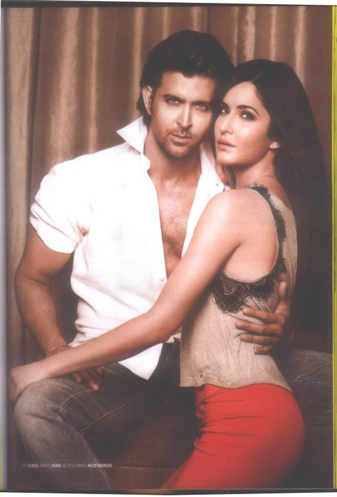 Katrina Kaif Hot Filmfare Scans July 2011 - Hrithik Roshan