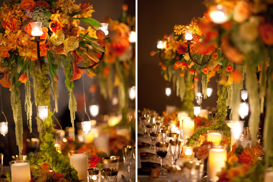 Autumn centerpieces for weddings crafts picture
