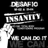 Desafio Insanity