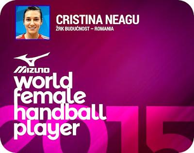 Felicitari Cristina Neagu! Hai Romania!