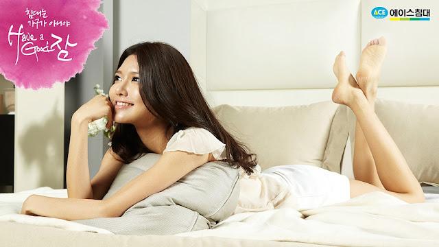 少女時代床上寢具代言廣告 - 秀英(수영) Soo Young