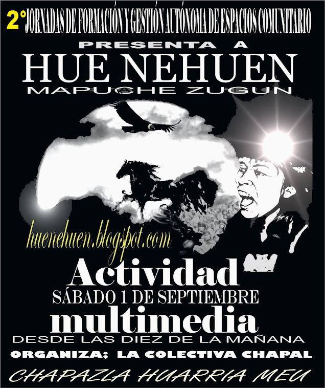 Actividad en Chapazla (Puel Mapu})