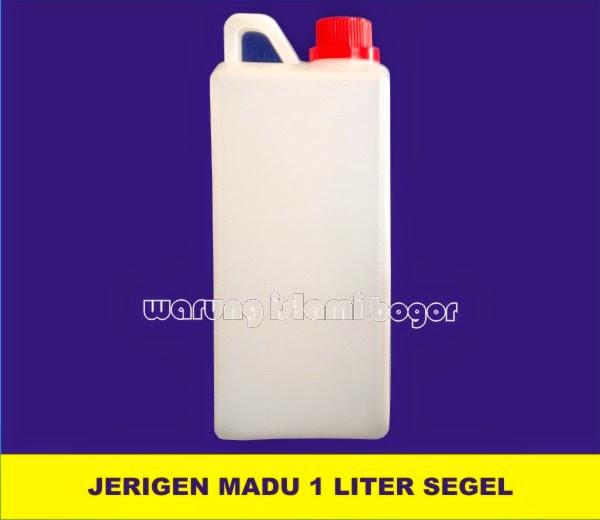 Jual Jerigen 1 Liter Model Tinggi Kotak Tutup Segel