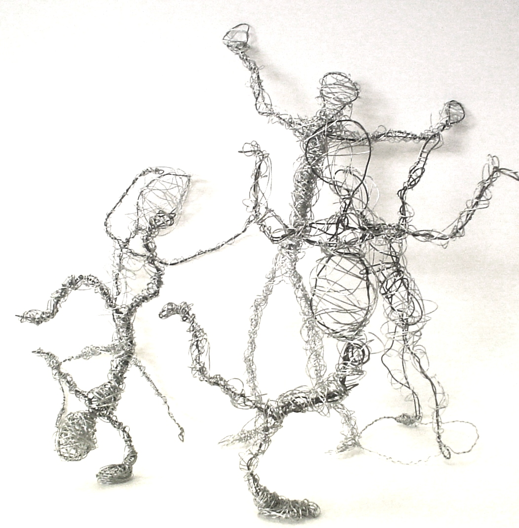 Wire Figures | Lessons from the K-12 Art Room