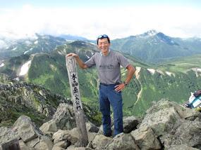 水晶岳2986m(北アルプス最深部ひとり旅)