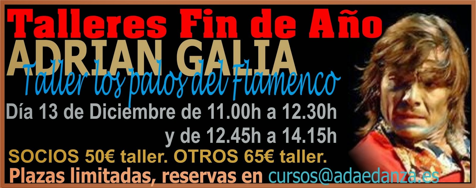 """ADRIAN GALIA """"LOS PALOS DEL FLAMENCO"""""""