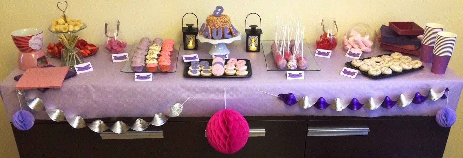 mesa dulce; candy bar; mesa; dulces; tarta, chocolate, fiesta