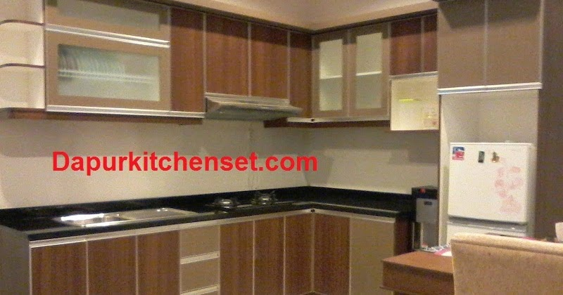 Jasa kitchen set harga kitchen set murah bekasi cikarang for Jasa buat kitchen set