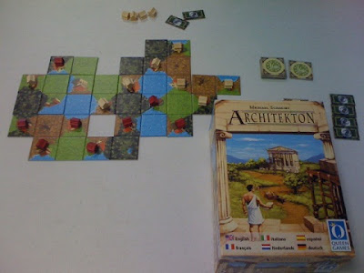 Architekton game in play