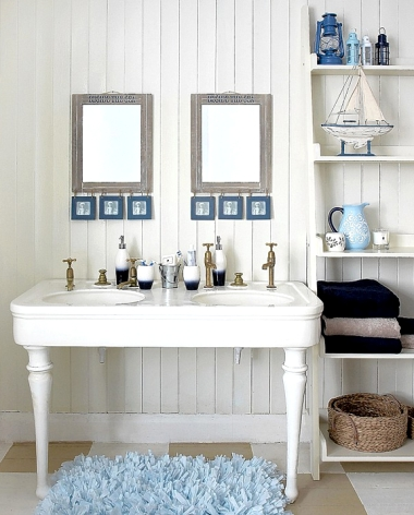 Coastal Beach Bathroom
