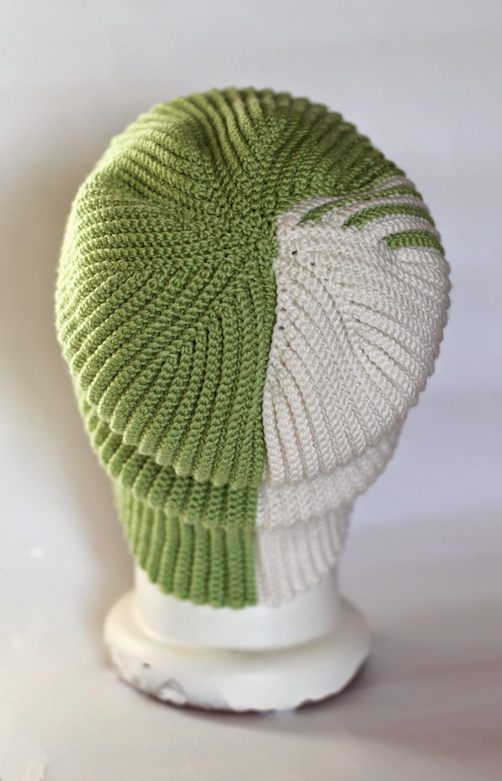 схема убавки для шапки резинкой