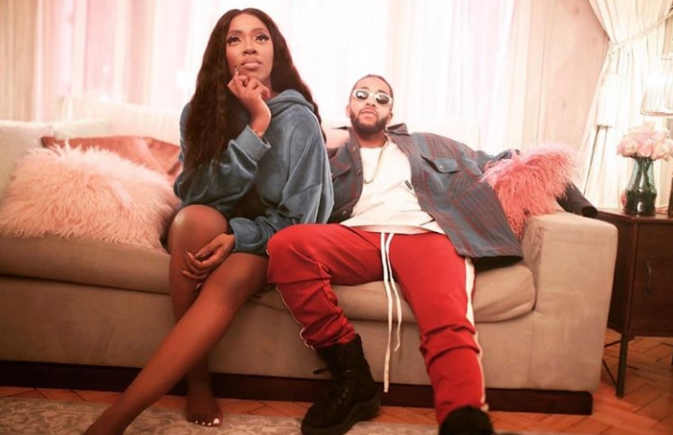 Tiwa Savage Poses With US Singer, Omarion In New Photo, Collaborates With Him