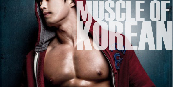Korean muscle guy - Asian gay pictures