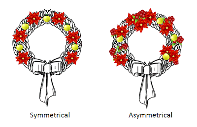 Designing principles for a floral wreath