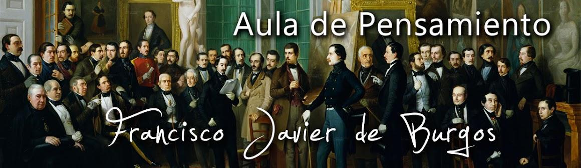 Aula de Pensamiento Francisco Javier de Burgos