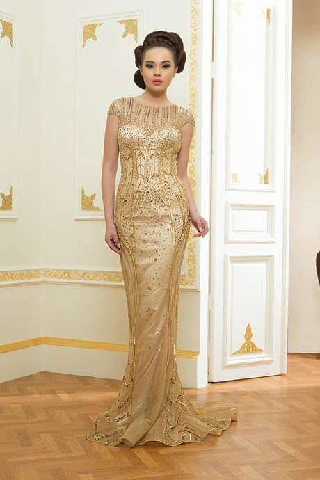 Lindos vestidos de noche elegantes