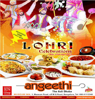 Lohri Celebration at Angeethi