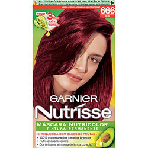 Garnier Nutrisse - Vermelho