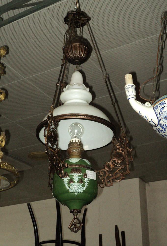 ... su Lampadario chinch? antico Liberty Art Nouveau Antique chandelier