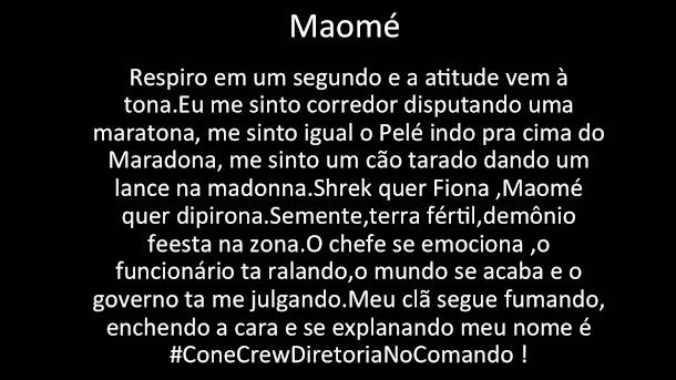 #ConeCrewDiretoria - Meus Amigos Fazem Rima