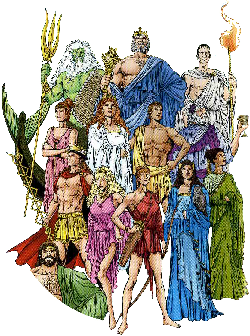 an analysis of gods and goddesses in the greek mythology List of greek mythological figures drinking cups and other vessels were painted with scenes from greek myths major gods and goddesses (greek mythology.