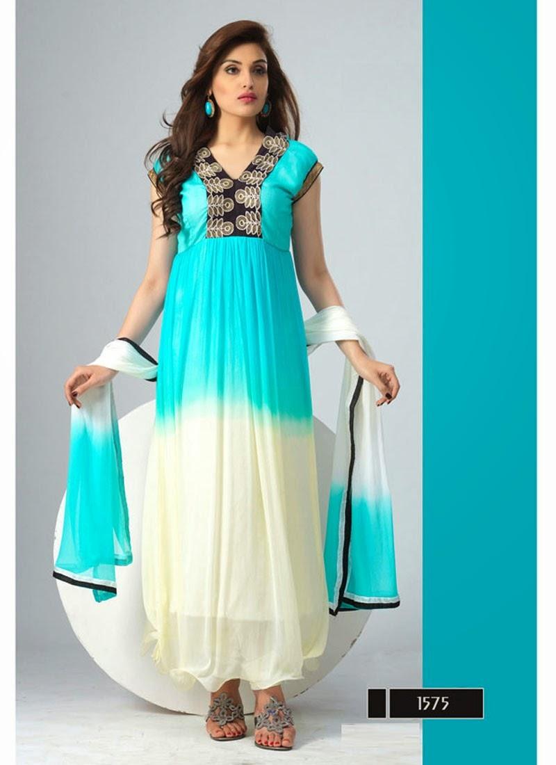 Buy online Designer Anarkali dress,Lehenga Choli,Saree in Surat ...