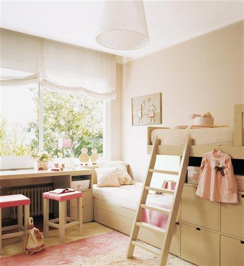 Quarto para duas meninas papo de design for Dormitorio para quarto pequeno
