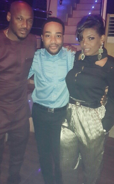 annie idibia welcome party