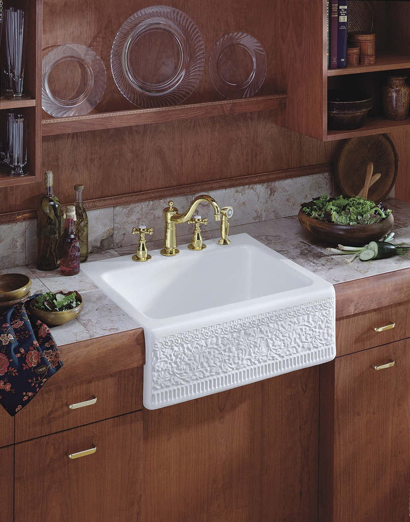 Sink With Apron : Apron Sink Trends - Kohler