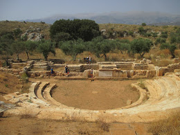 Theater at Ancient Aptera, Crete, June 2016